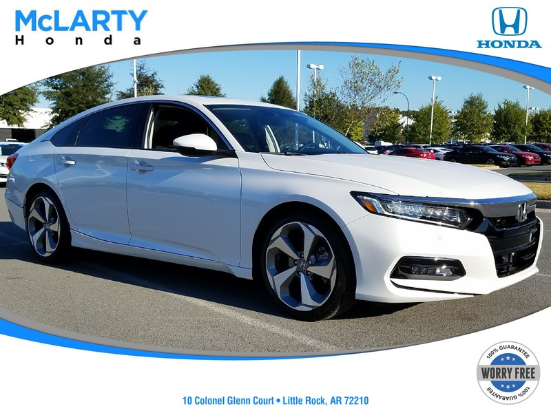 New 2018 Honda Accord Touring Cvt Sedan In Little Rock
